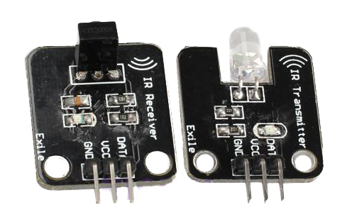Ir on pressure sensor circuit