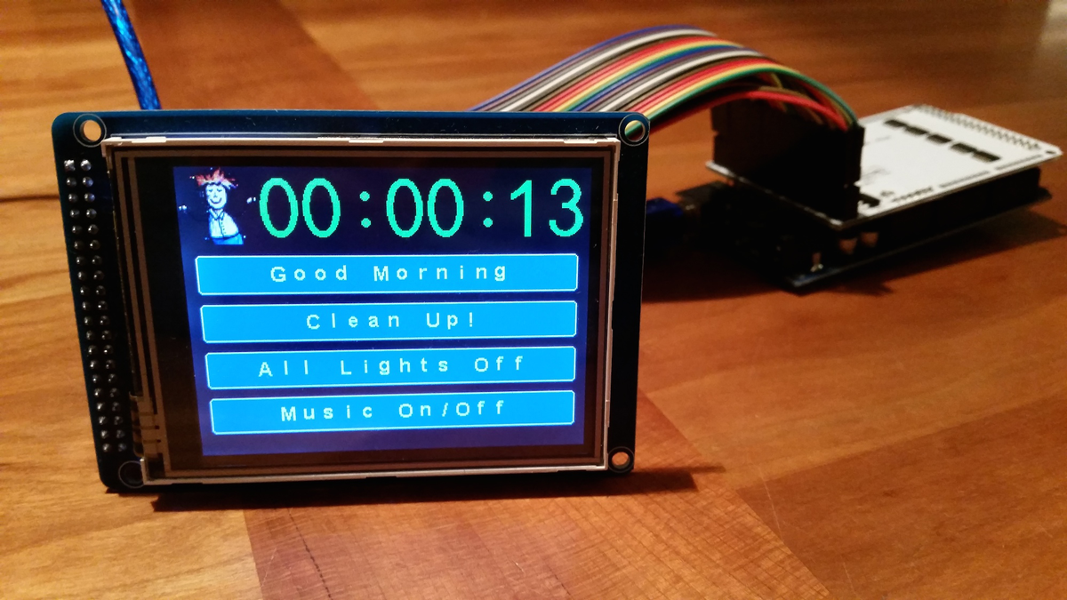 Touch Display Scene Controller Mysensors Create Your