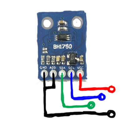 Light Level Sensor - BH1750 | MySensors - Create your own
