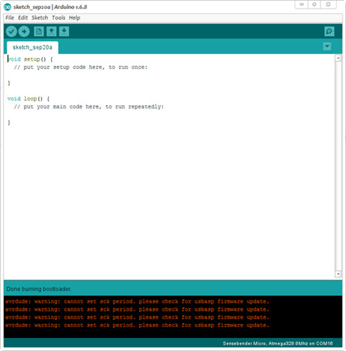 FOTA (Wireless Programming) | MySensors - Create your own Connected